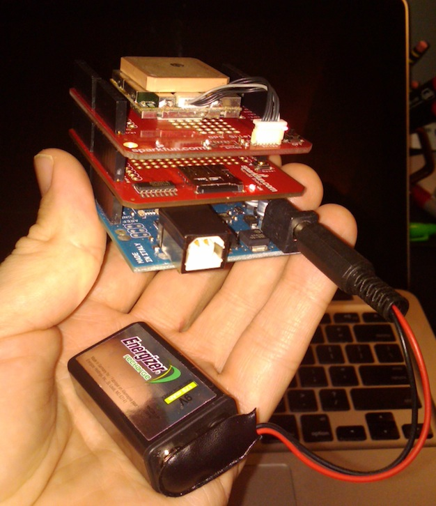 Garmin vs Arduino GPS dance-off | Numpty's Progress